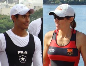 Ailson Eráclito e Fabiana Beltrame são os destaques do Brasil no Sul-Americano