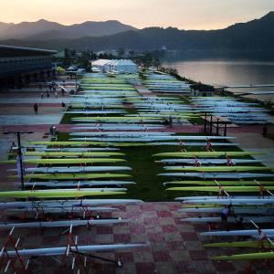O Mundial de Chungju terá 384 barcos em 27 classes (Foto: Alexandre Clark)