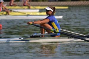 Beatriz: vaga do Brasil no Single Skiff feminino
