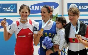 Fabiana foi campeão Mundial em 2011 (Foto: ©Detlev Seyb/MyRowingPhoto.com)