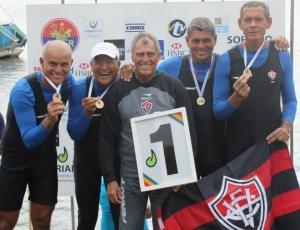 Baianos ganharam dois ouros no Sul-Americano (Foto: FCRB/Divulgação)