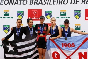"""Fabiana: ídolo das """"rivais"""" mais jovens (Foto: Remo em Voga)"""