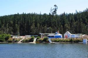 Raia da Lagoa Curauma recebe as provas de remo (Foto: Divulgação)