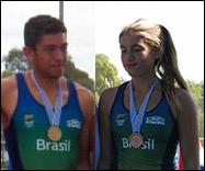 Uncas e Sophia vão representar o Brasil (Fotos: Federação Uruguaia)