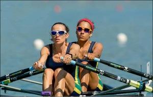 Fabiana e Beatriz: Double Skiff Peso-Leve (Foto: reprodução Facebook)