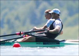 O neozelandês Mahe Drysdale venceu no Single Skiff (Foto: Igor Meijer/FISA)
