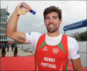 Pedro Fraga, ouro e recorde europeu (Foto: Detlev Seyb/MyRowingPhoto.com)