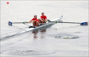 Dois Sem Feminino do Chile: 5º nos Jogos (Foto: Igor Meijer/FISA)