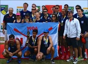 Equipe do União ganhou 10 medalhas no Brasileiro (Foto: GNU/Facebook)