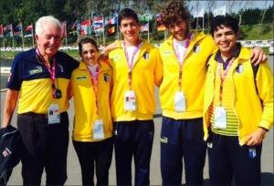 Luiza, Arthur e Gabriel: Brasil no Mundial Universitário