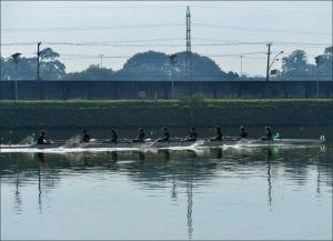 Oito Com do Corinthians: treino sem competição (Foto: Rozilene Xavier)