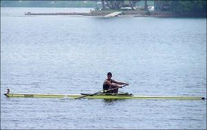 Ailson, do Botafogo: o mais rápido nos três dias (Foto: Remo em Voga)