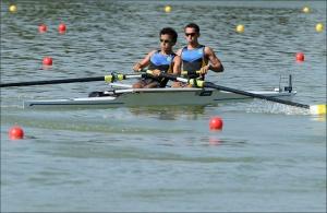 David e Guilherme estão na Final C no Dois Sem PL (Foto: Detlev Seyb/MyRowingPhoto.com)