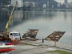 Antigos deques começaram a ser substituídos (Foto: Remo em Voga)