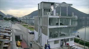 A nova torre de árbitros está em fase final de obras (Foto: Remo em Voga)