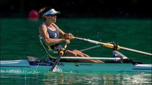 Fabiana vence na estreia no Mundial na França (foto: Row2k/Facebook)