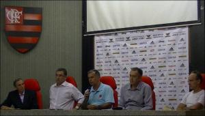 Dirigentes cariocas: unidos contra a CBR (Foto: Remo em Voga)