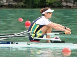 Fabiana: 4º lugar na despedida do Mundial (Foto: reprodução Facebook)