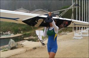 Fabiana: rumo à 4ª Olimpíada (Foto: reprodução Facebook)