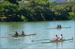 Dois Sem tem gaúchos em três barcos (Foto: Rozilene Xavier/CBR)