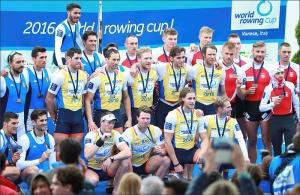Holandeses venceram Oito Com Masculino (Foto: Igor Meijer/FISA)