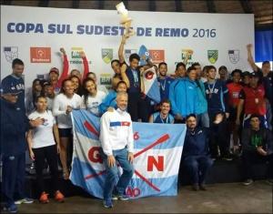 Unionistas comemoram título da Copa Sul-Sudeste (Foto CBR)