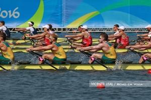 Four Skiff masculino dará 1ª medalhas no Rio Foto: Vicente Leal/Remo em Voga)