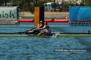 Drysdale e Martin: decisão por 3 centímetros (Foto: Vicente Leal/Remo em Voga)