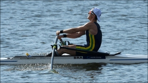 Lucas Verthein: medalha inédita no Mundial (Foto: Detlev Seyb/MyRowingPhoto)