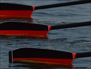 Remos da Alemanha: tradição de pódio Olímpico (Foto: Vicente Leal/Remo em Voga)