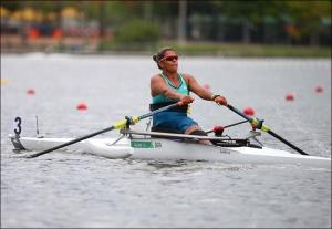 Cláudia Santos: 3ª final Paralímpica no ASW1x (Foto: Igor Meijer/FISA)