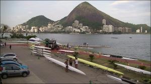 Barcos ocupam estacionamento no Estádio de Remo (Foto: Remo em Voga)